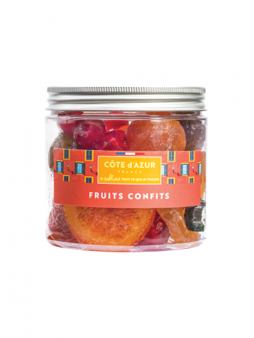 Assortiments de Fruits Confits
