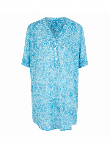 Kurta Blue Leaf